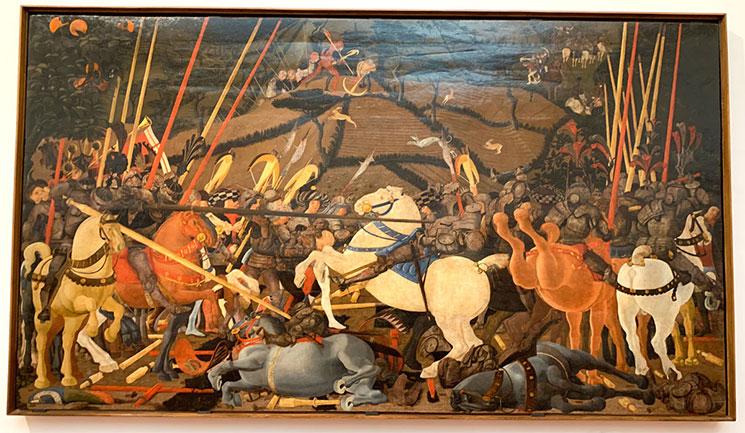 サン・ロマーノの戦い / パオロ・ウッチェッロ作