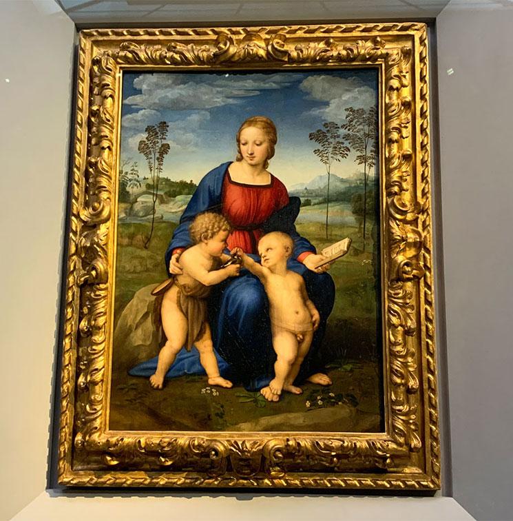 ヒワの聖母 / ラファエッロ作(1505年~06年頃)