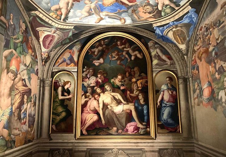 ヴェッキオ宮殿 エレオノーラの礼拝堂