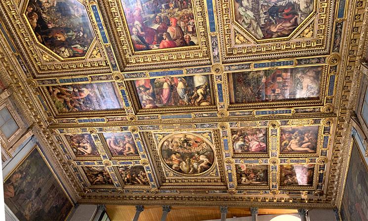 五百人広間の天井画