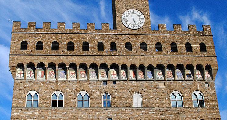 フィレンツェの街の9つの行政区の紋章