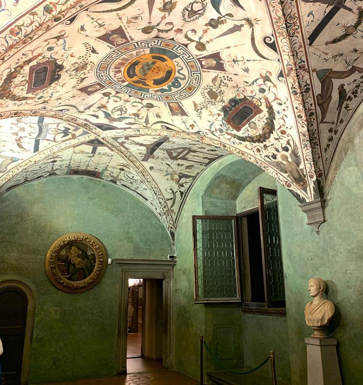 ヴェッキオ宮殿 博物館エリアの展示室