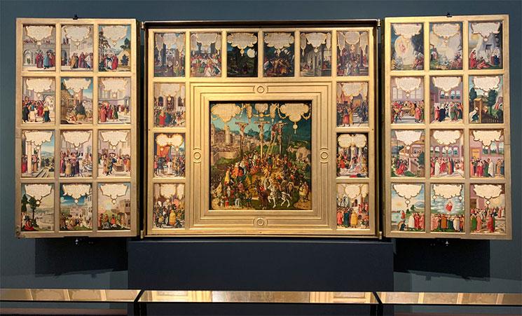 絵画コレクションの展示作品
