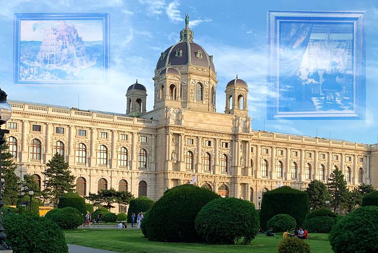 ウィーン美術史美術館の外観