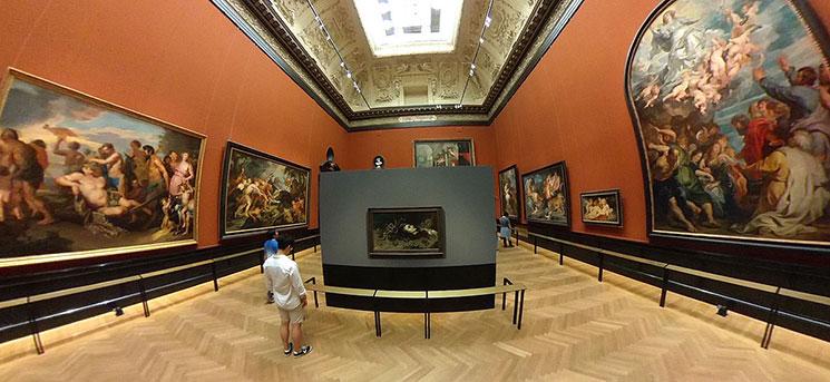 1階絵画コレクション 展示室の様子