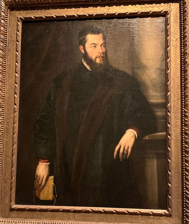 ベネデット・ヴァルキの肖像 / ティツィアーノ・ヴェチェッリオ作