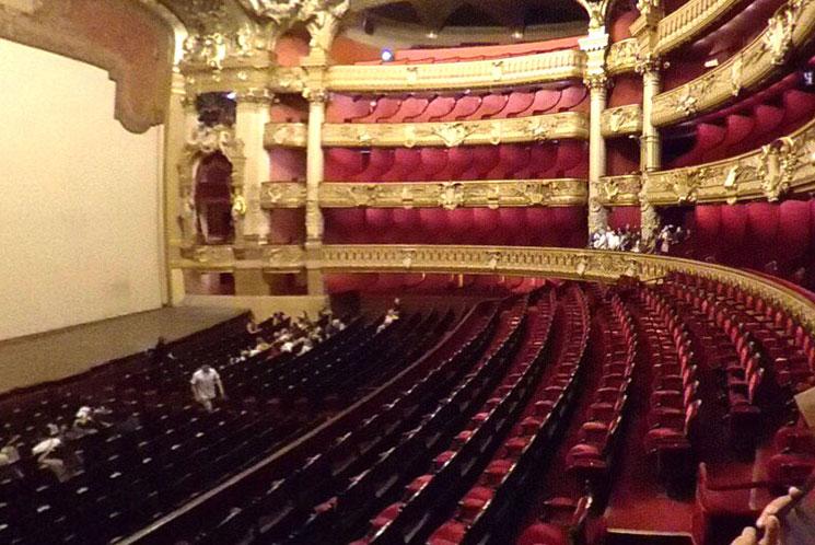 オペラ・ガルニエのコンサートホール
