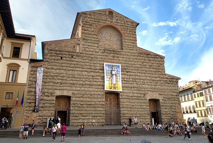 サン・ロレンツォ教会の外観