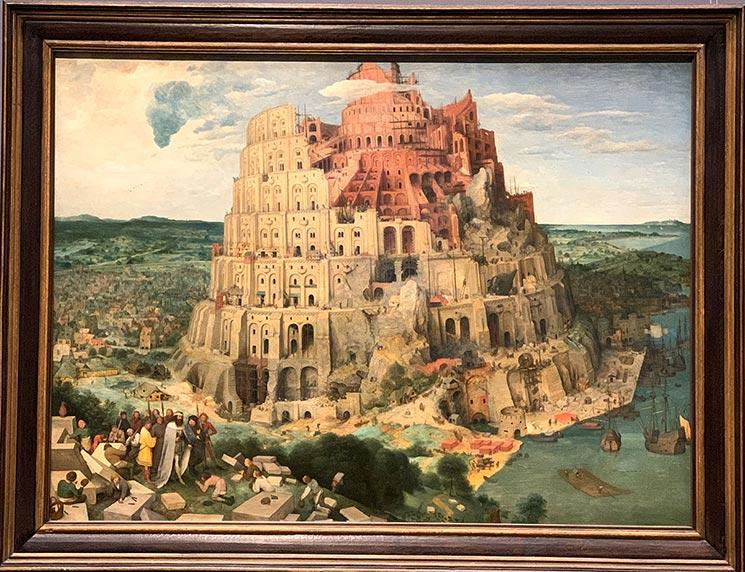 バベルの塔 ビーテル・ブリューゲル作