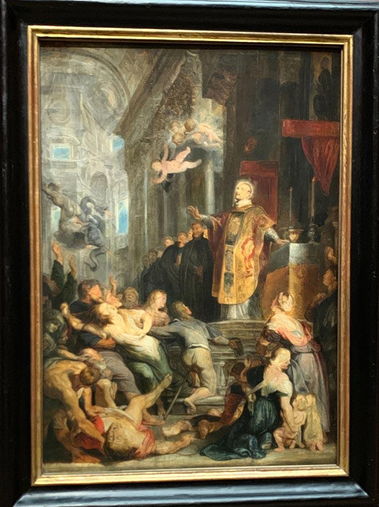 聖イグナティウス・デ・ロヨラの奇跡 / ペーテル・パウル・ルーベンス作