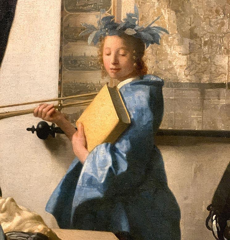 絵画芸術 歴史の女神「クリオ」