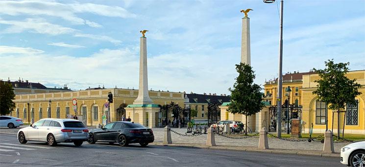 シェーンブルン宮殿の正門