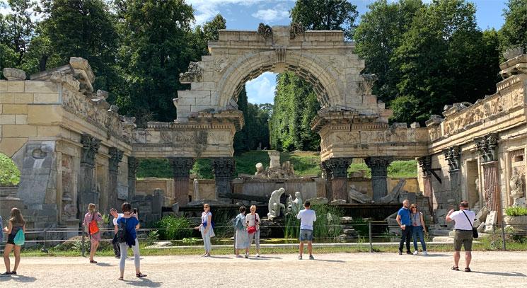 ローマ風の廃墟