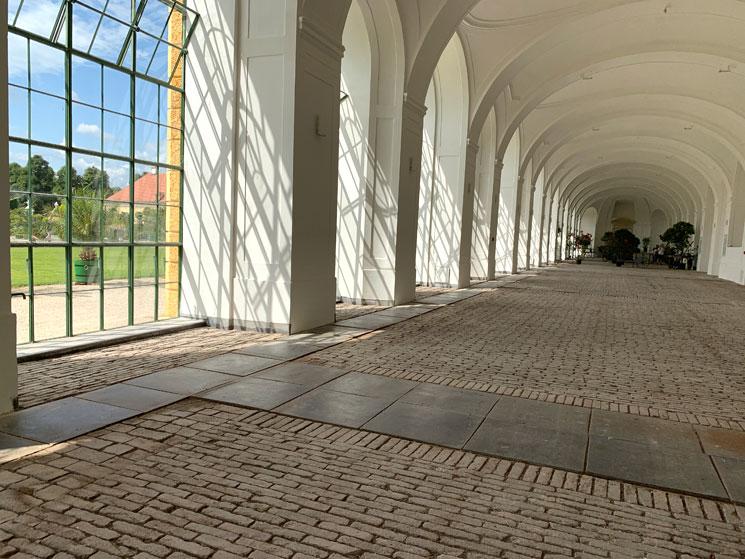 シェーンブルン宮殿のオランジュリー内部
