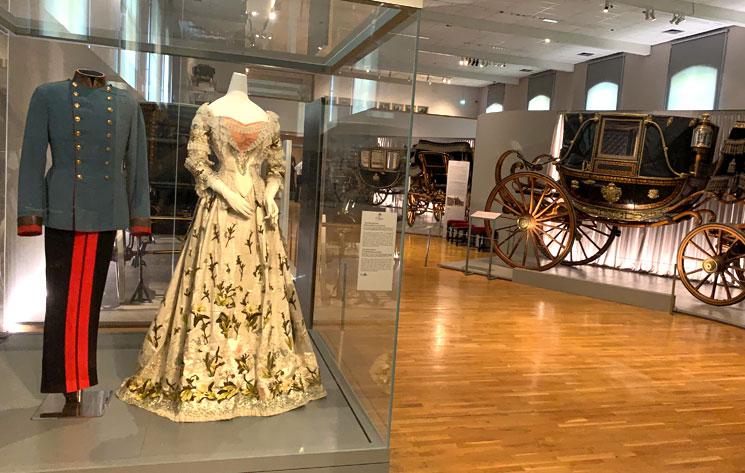 馬車博物館 シシィとフランツ・ヨーゼフの衣装