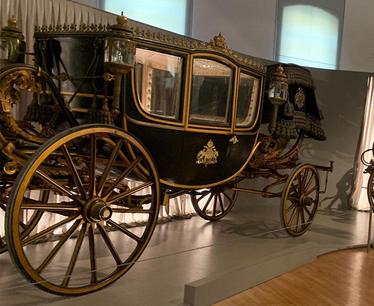 馬車博物館 シシィの霊柩車