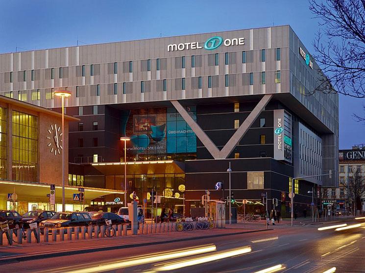 モーテル ワン ウィーン ウエストバーンホフ(Motel One Wien Westbahnhof)