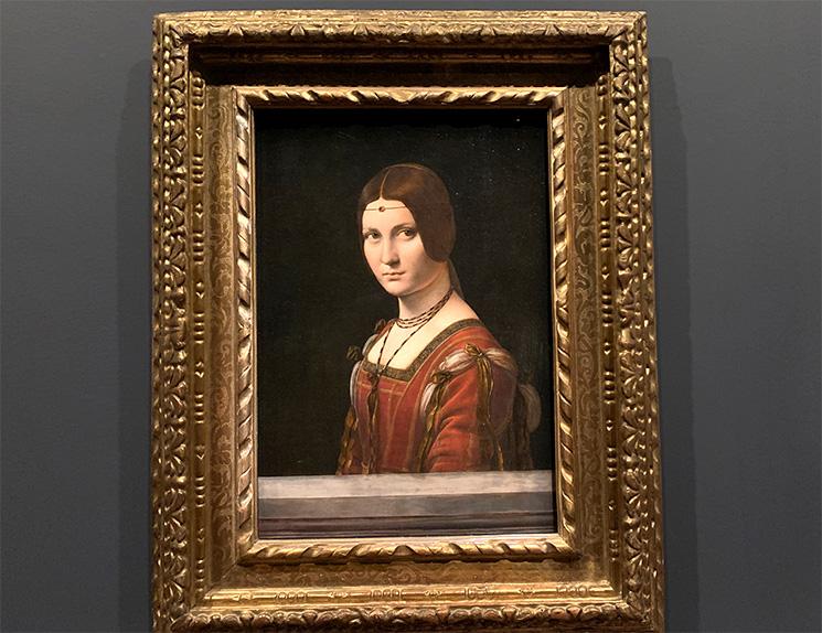 ミラノ貴婦人の肖像 - ベル・フォロニエール