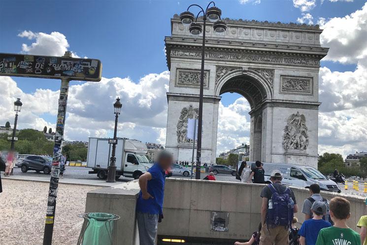 凱旋門の外観