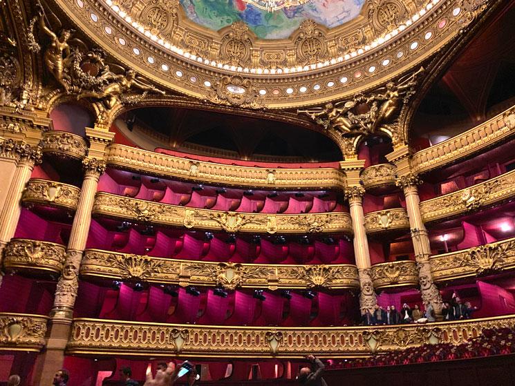劇場の景観