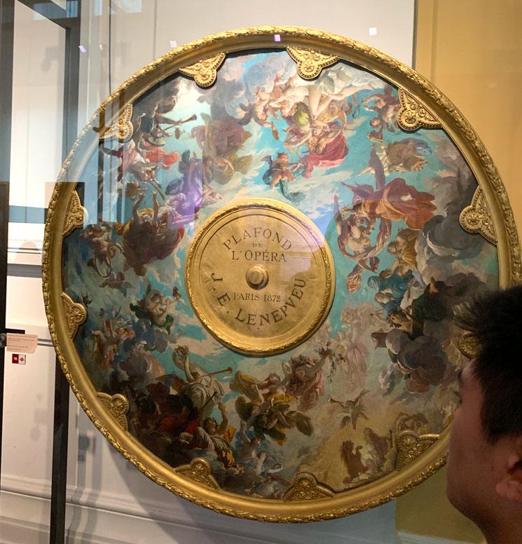 オペラ座博物館 天井画