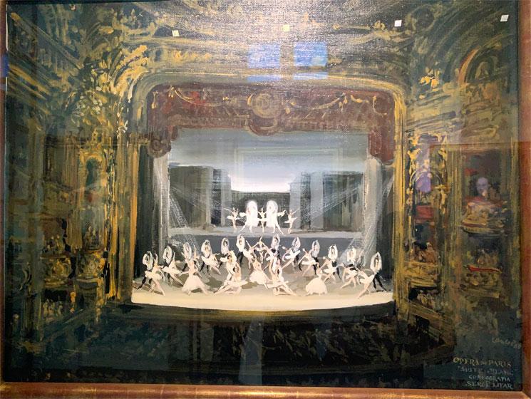 オペラ座博物館の絵画