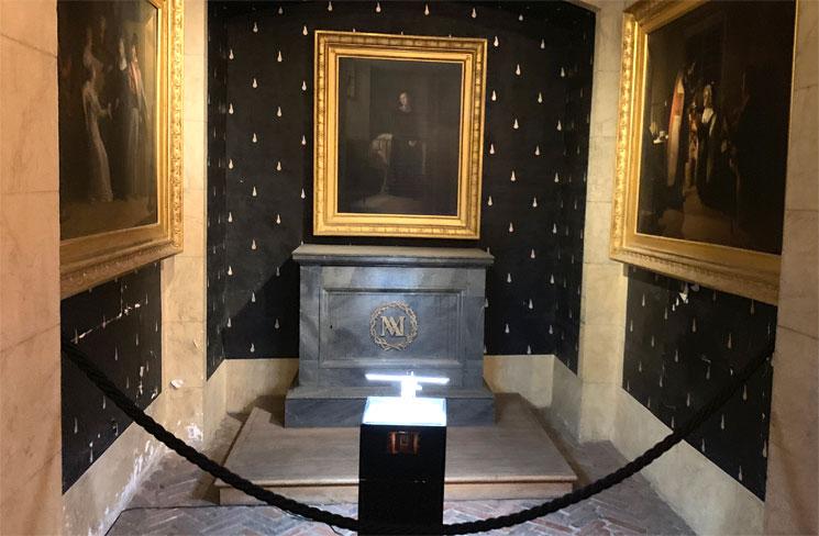 マリー・アントワネットの記念礼拝堂 ルイ16世に捧げられた石碑