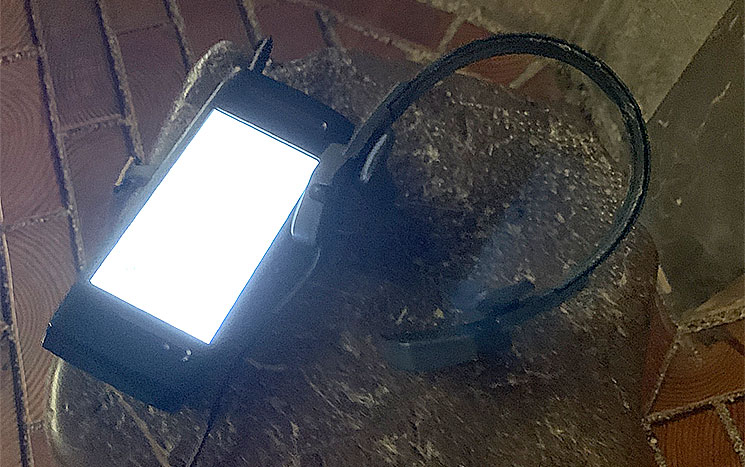 オーディオビジュアルガイドとヘッドフォン