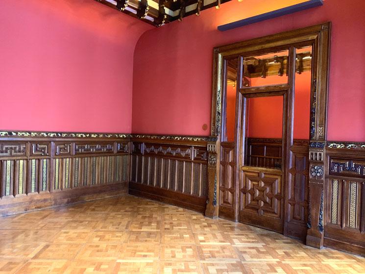 グエル家のプライベートルーム