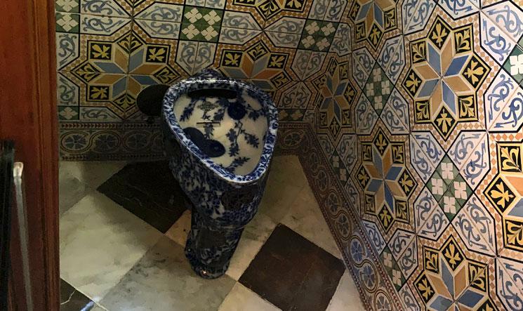 グエル邸2階のトイレ