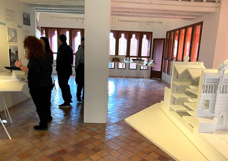 カサ・ビセンス2階常設展の展示模型
