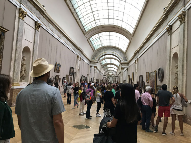 ルーブル美術館 展示室710 イタリア絵画