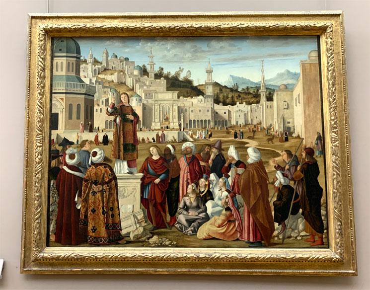 エルサレムにおける聖ステパノの説教