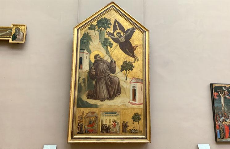 アッシジの聖フランチェスコの聖痕拝受