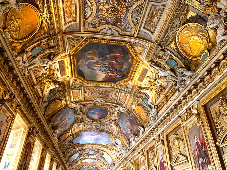 アポロンのギャラリーの天井画
