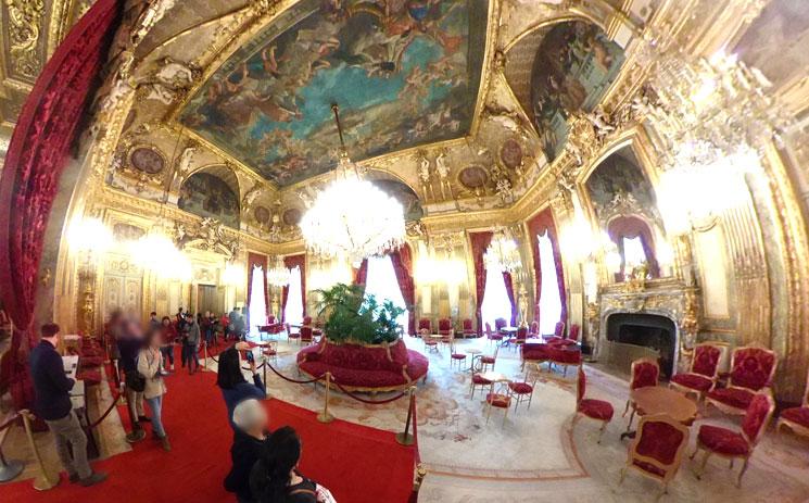ナポレオン3世の居室 大サロン