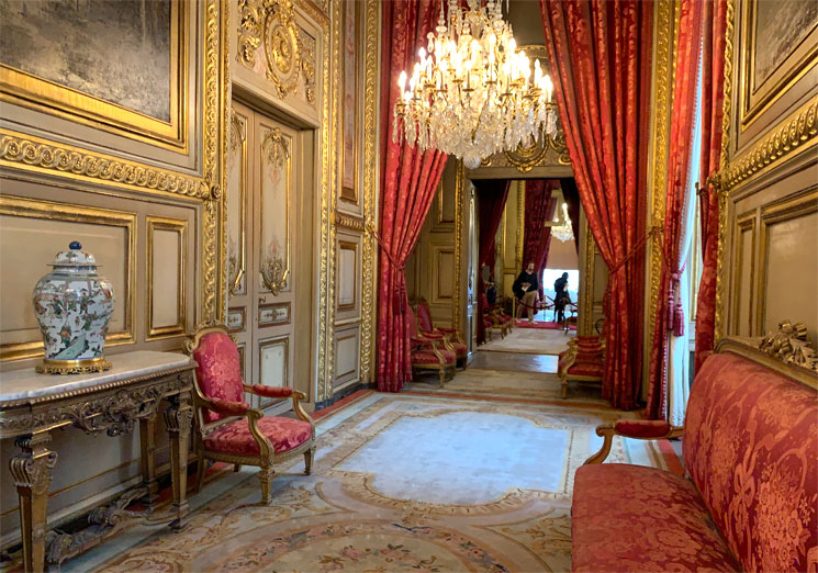 ナポレオン3世の居室 劇場サロン