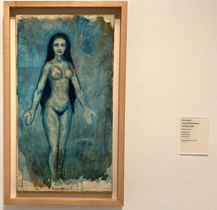 Female nude - 女性のヌード ピカソ作