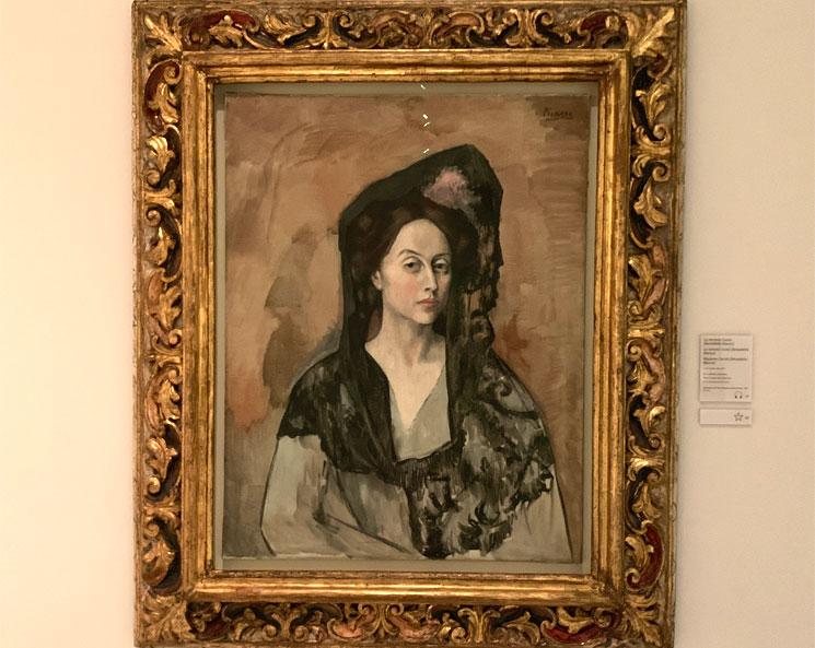 Female nude - ベネテッタ・ビアンコの肖像 - カナルス夫人 ピカソ作