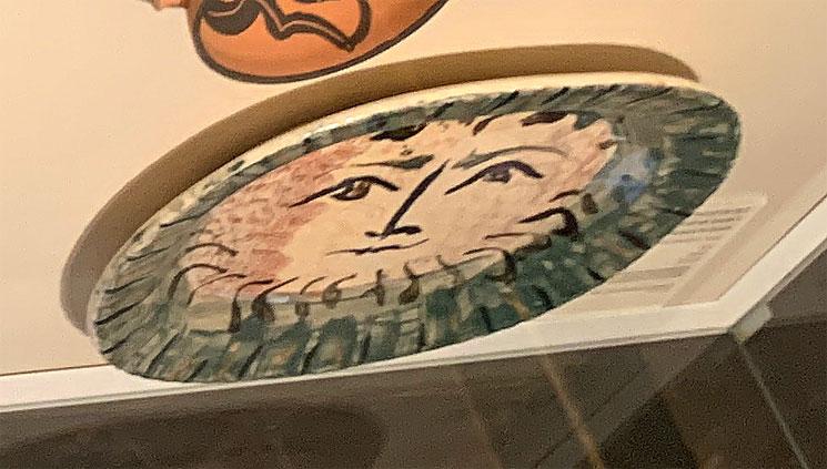 牧神の顔 ピカソ作
