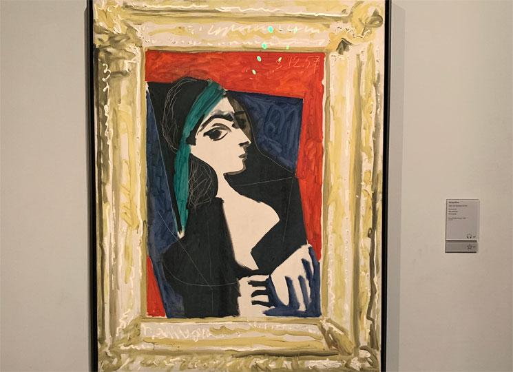 ジャクリーヌの肖像 ピカソ作
