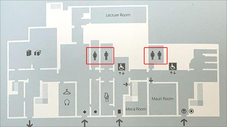 ピカソ美術館 フロアマップ