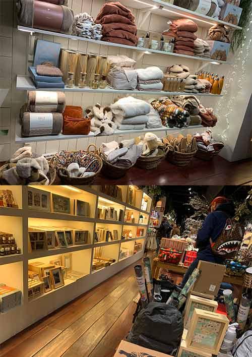 Natura 店内の風景と商品