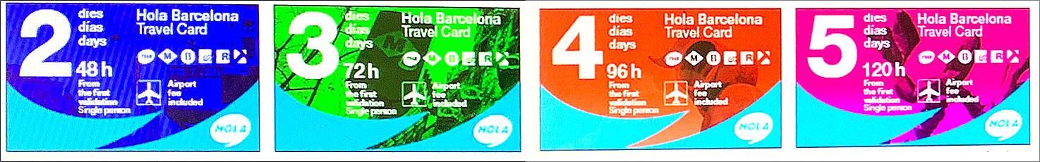 Hola BCN トラベルカード