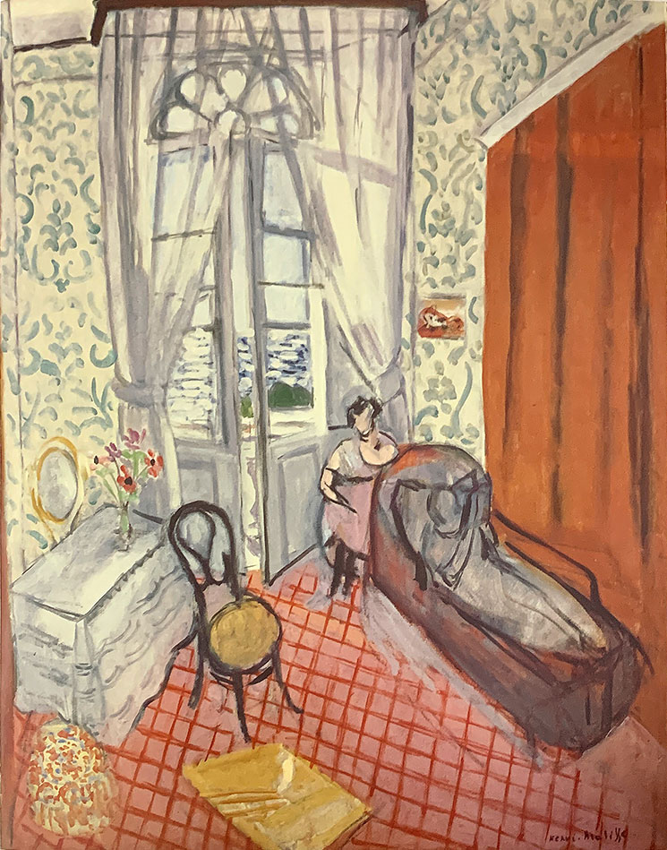 ソファーの女たちあるいは長椅子(1921年) - アンリ・マティス作