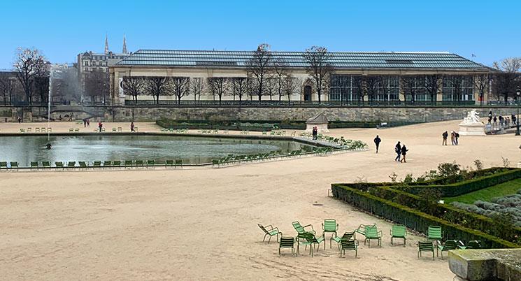 チュイルリー庭園とオランジュリー美術館