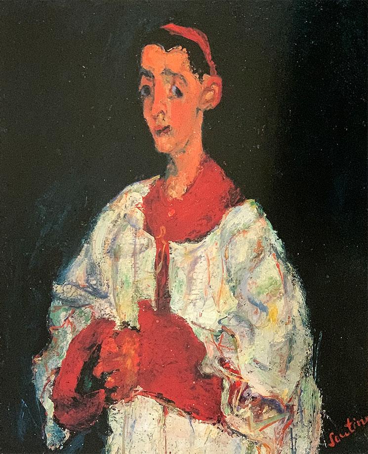 聖歌隊の子供(1927-28年頃) - シャイム・スーティン作