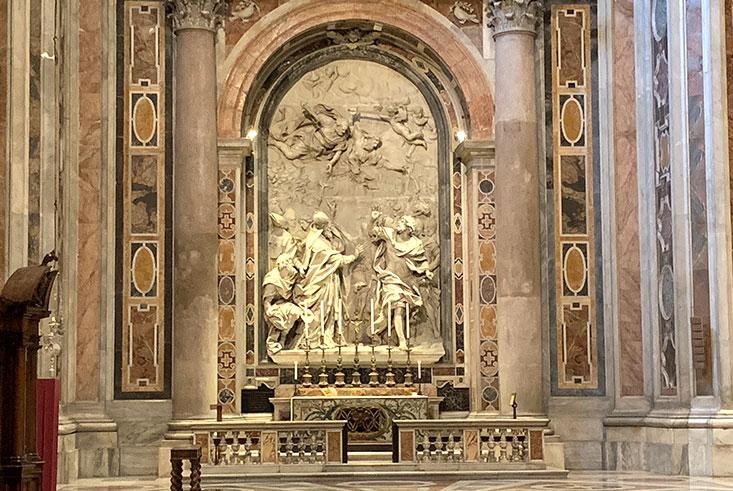 サン・ピエトロ大聖堂「レオ1世の祭壇」