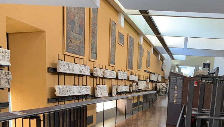 ピオ・クリスティアーノ美術館内の景観