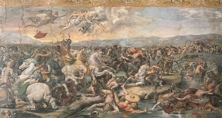 ミルウィウス橋の戦い